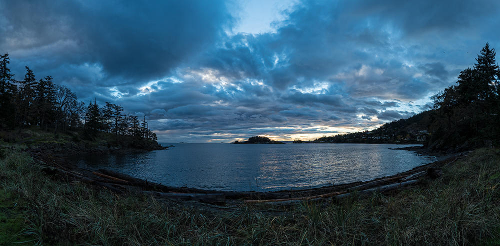 Panorama Image Of Neck Point Park (made up of 15  vertical images all shot handheld)