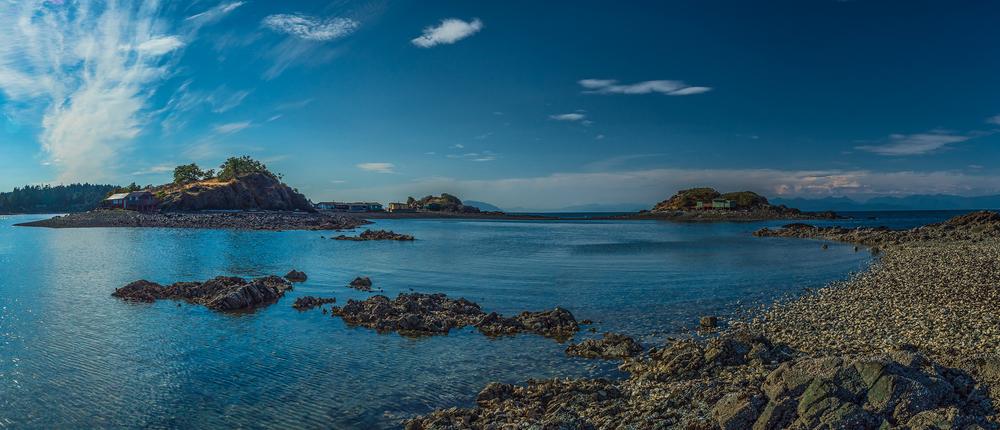 Panorama of Shack Island