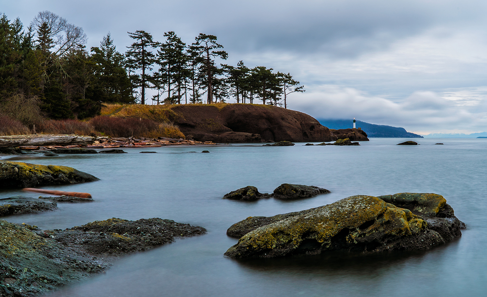 Brooks Point Park on Pender Island