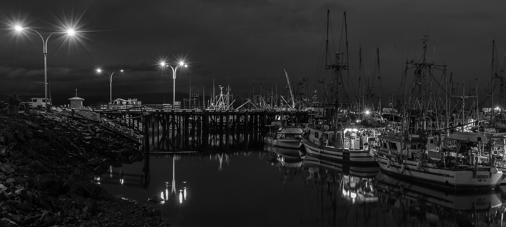 French Creek Marina in Parksville
