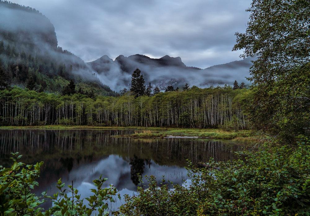 Dawn at Malaspina Lake