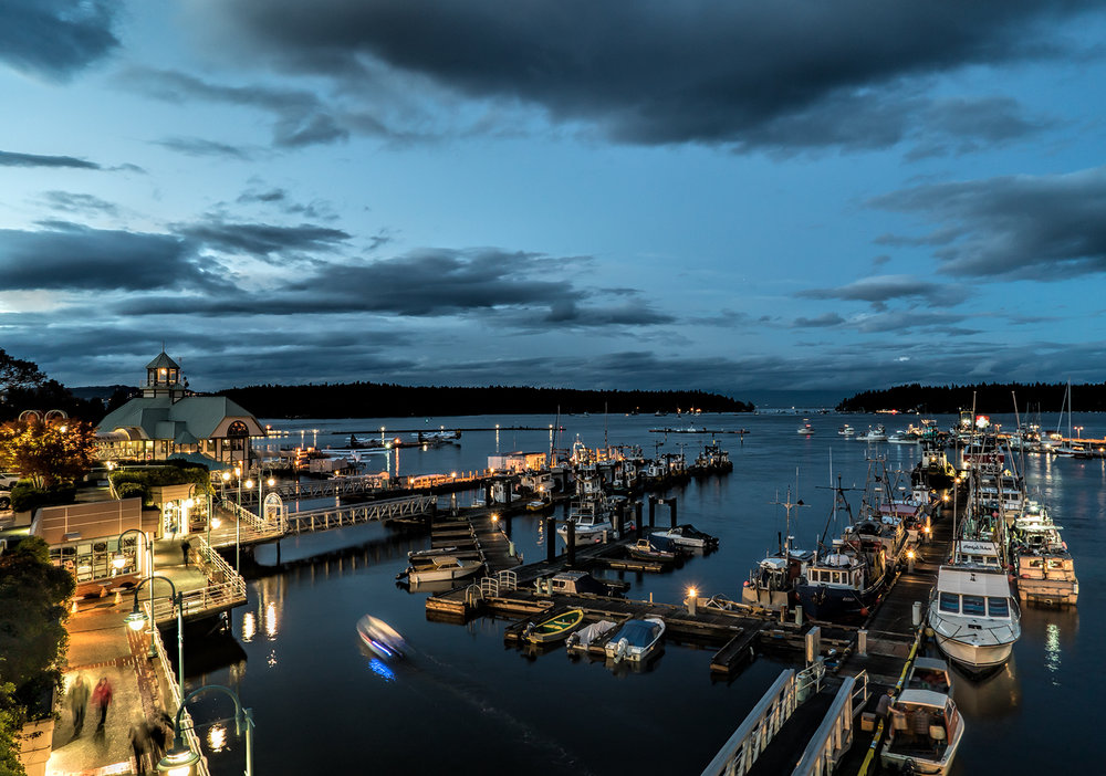 Blue Hour In Nanaimo Harbour (800 iso)
