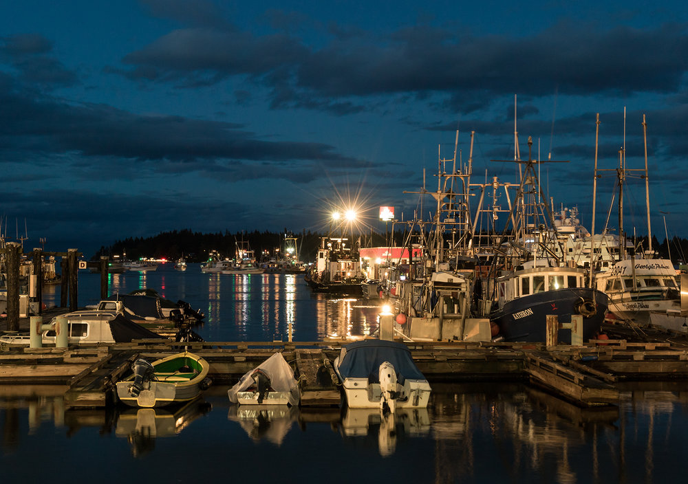 More Of The Blue Hour In Nanaimo Harbour (1600 iso)