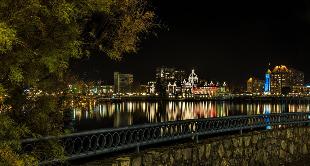 Victoria's Inner Harbour Skyline