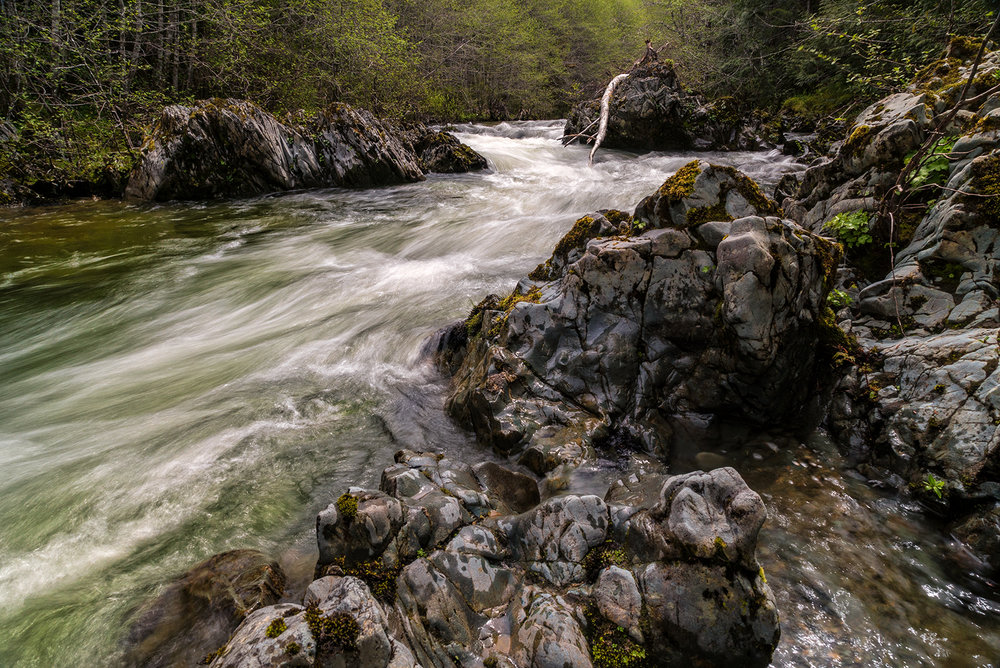 Spring Runoff On The Cameron River