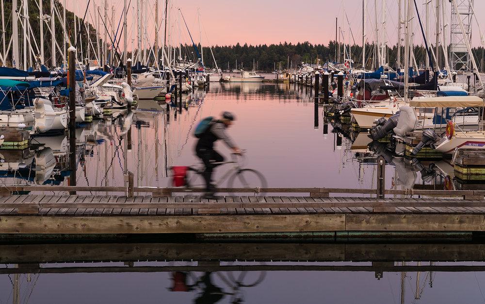Dock rider