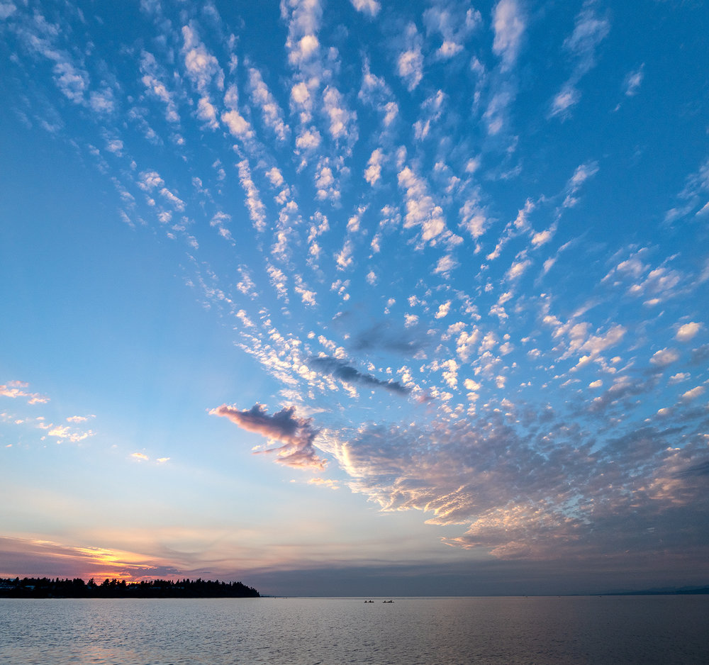 Kayaking Under A Big Sky