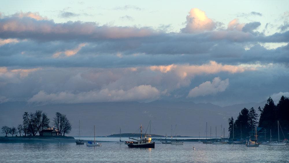 Newcastle Island anchorage