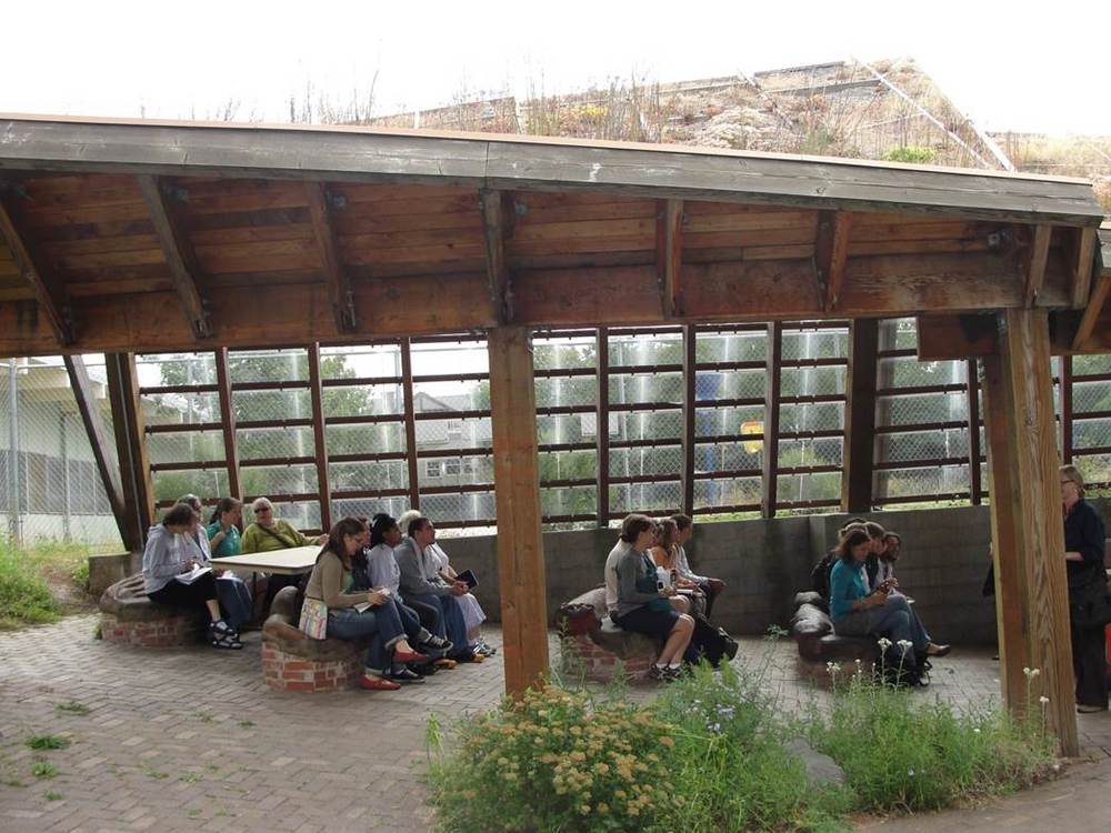 Atkinson Outdoor Learning Garden Pavilion, Portland, Oregon