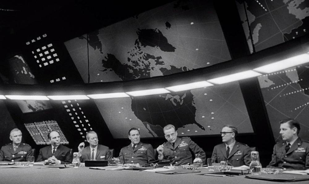 Dr. Strangelove, or how I learned to love the bomb. Stanley Kubrick, director