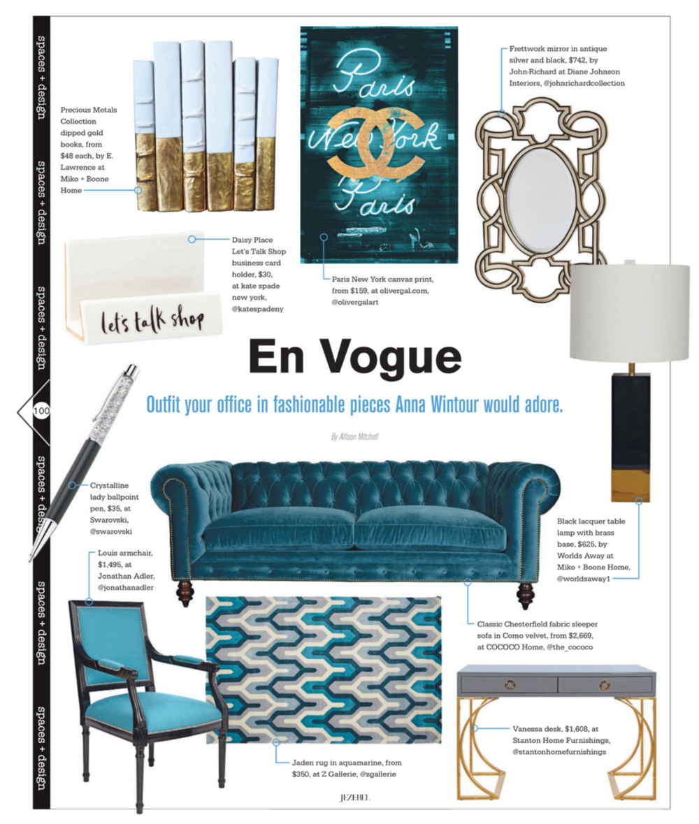 Jezebel | September 2016 | Spaces + Design
