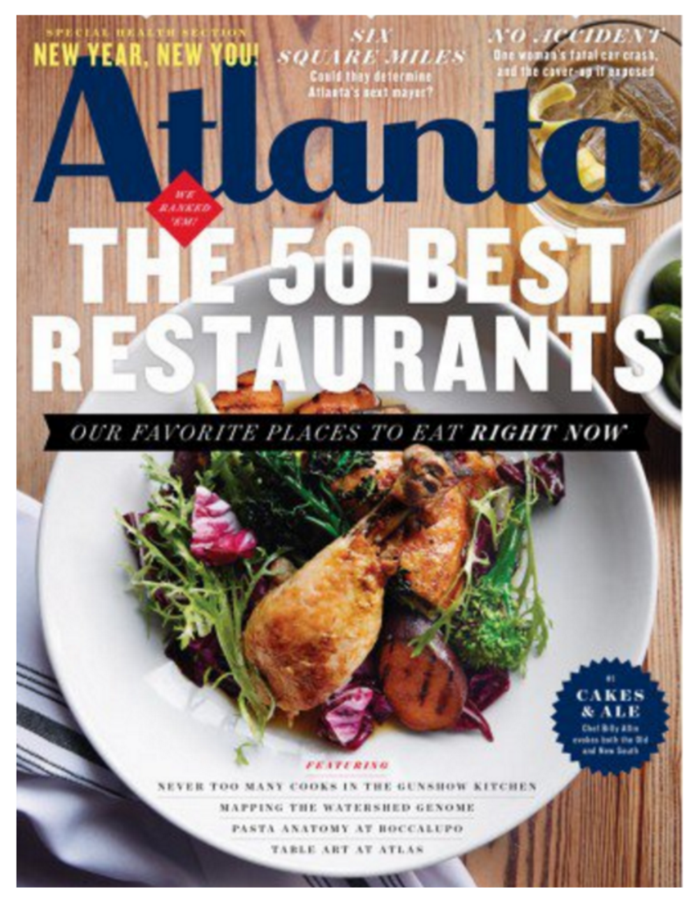 Atlanta Magazine | January 2016 | Room Envy