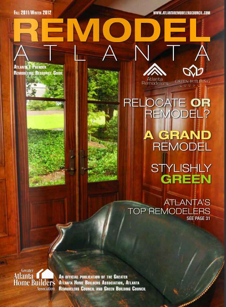 Remodel Atlanta | Winter 2012 | Kaney Residence