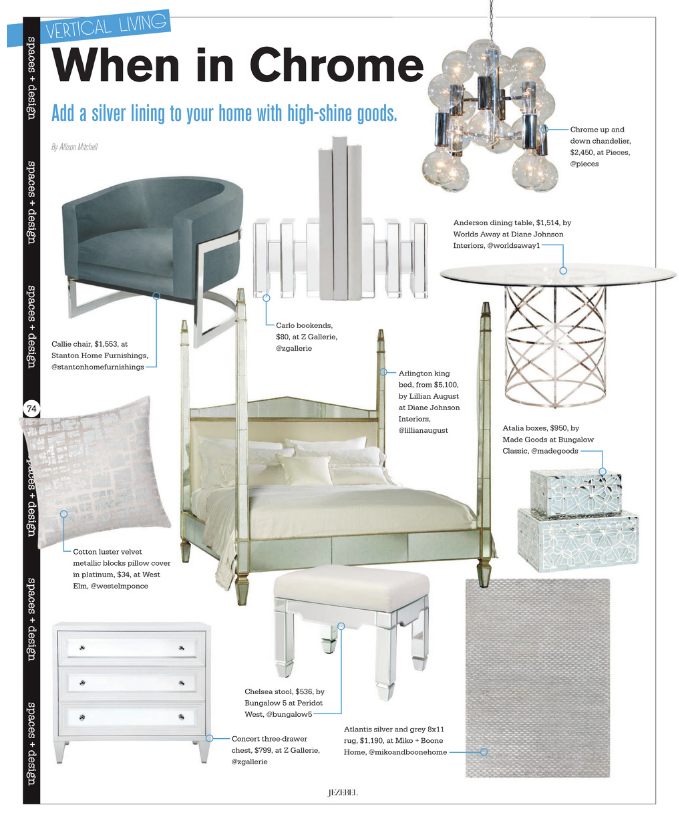 Jezebel | October 2016 | Vertical Living | When in Chrome