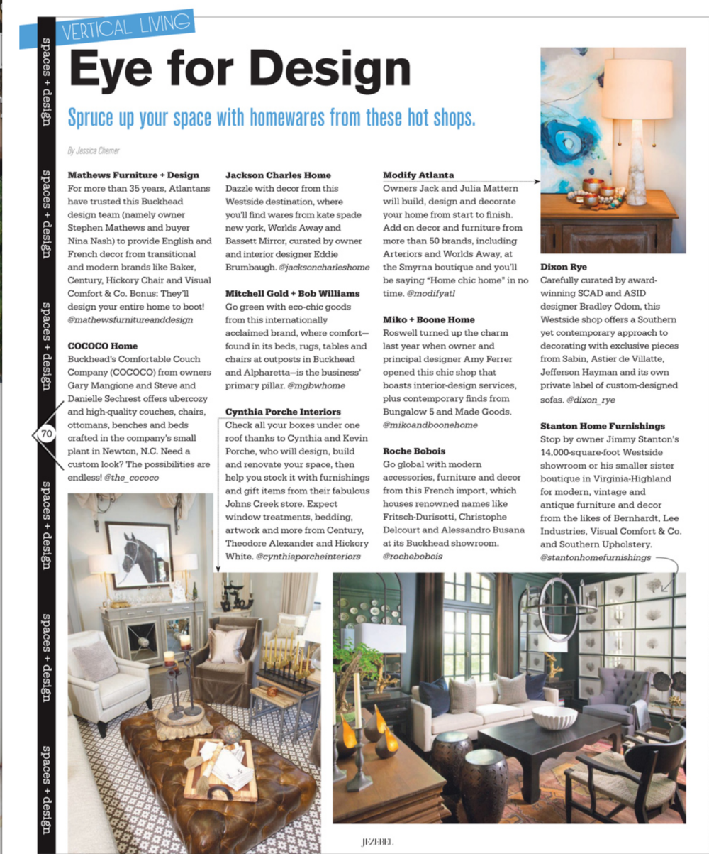 Jezebel | October 2016 | Vertical Living | Eye for Design