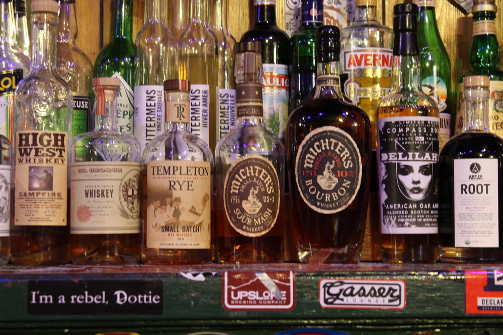 Some of our favorite whiskey and amaro