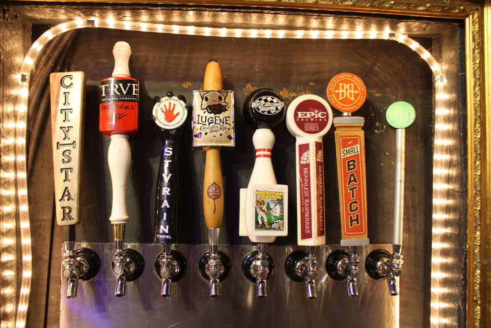 Lots of local craft beer love!