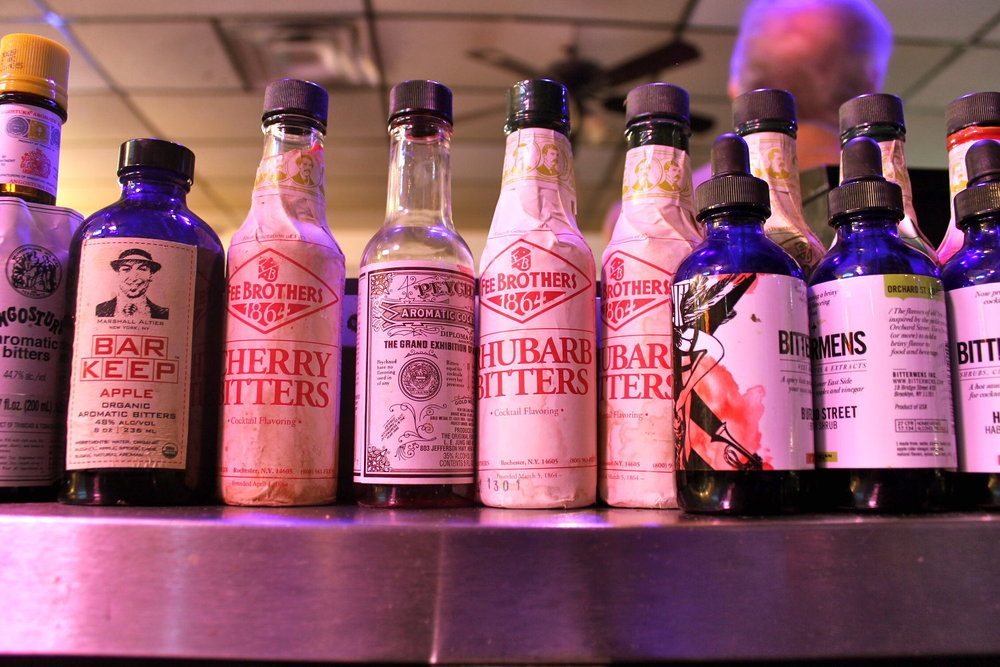 All the bitters a drink could wish for...