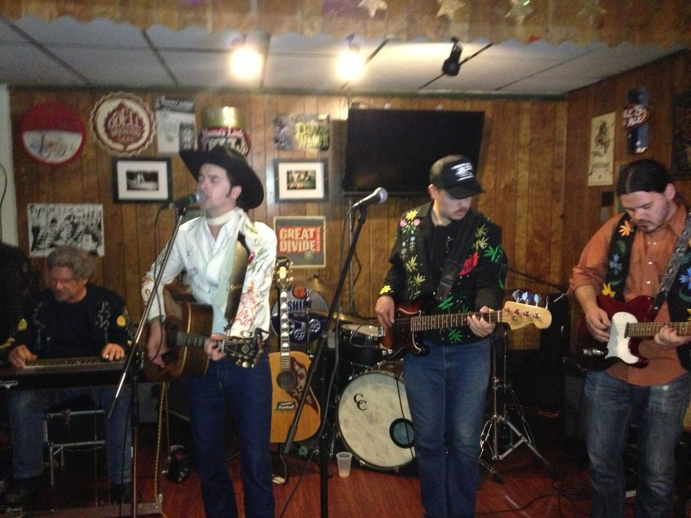 Live Music with Casey James Prestwood and The Burning Angels