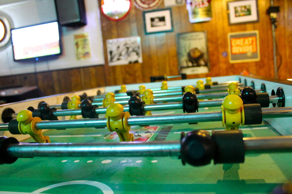 Tighten up your foosball game!