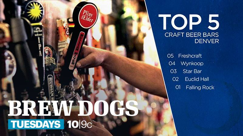 Number 3 on the Brew Dogs top 5 craft beer bars in Denver Colorado!