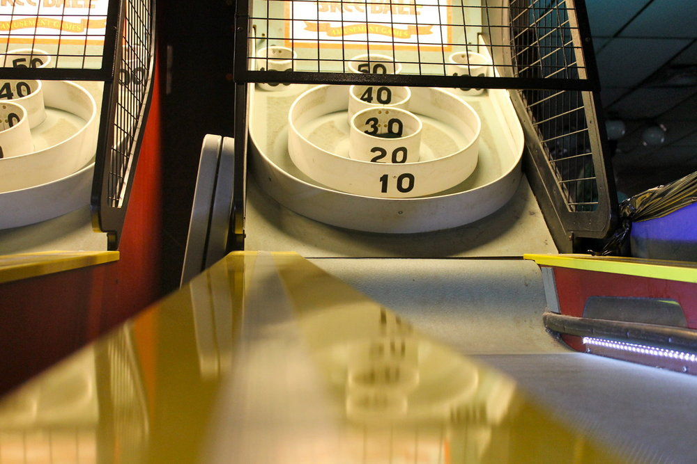 Skee Ball at Star Bar