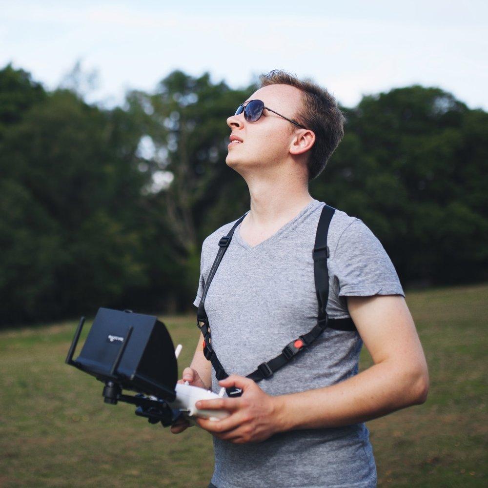 Tom Ensom - Pilot and camera operator