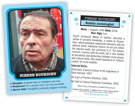 Theory.org.uk's Bourdiey trading card