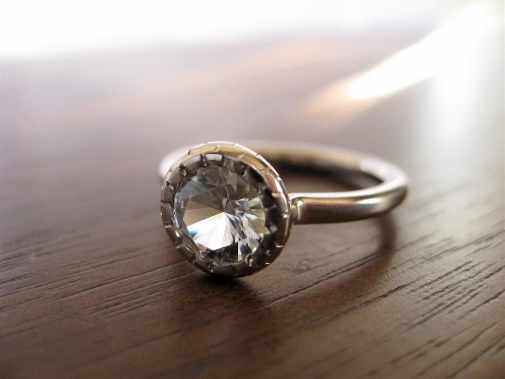 In the beginning….the first engagement ring.