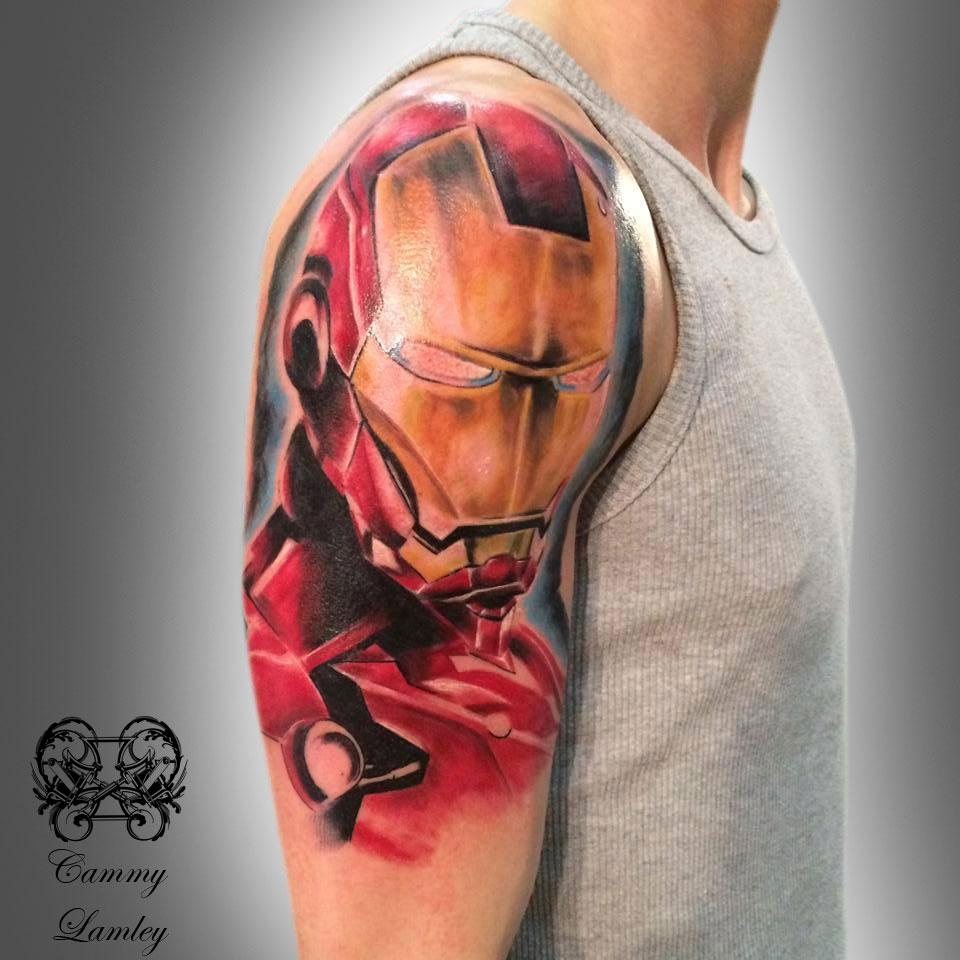 Iron Man Chest Piece Tattoo | www.imgkid.com - The Image ...