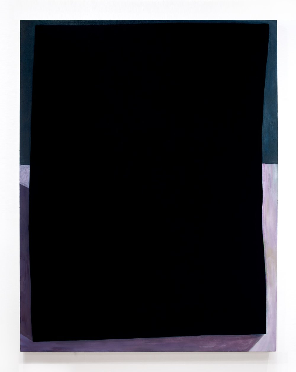 "Flat Bottomed, 2016, oil on canvas, 54""x42"" Image credit:  Kai Mushens"