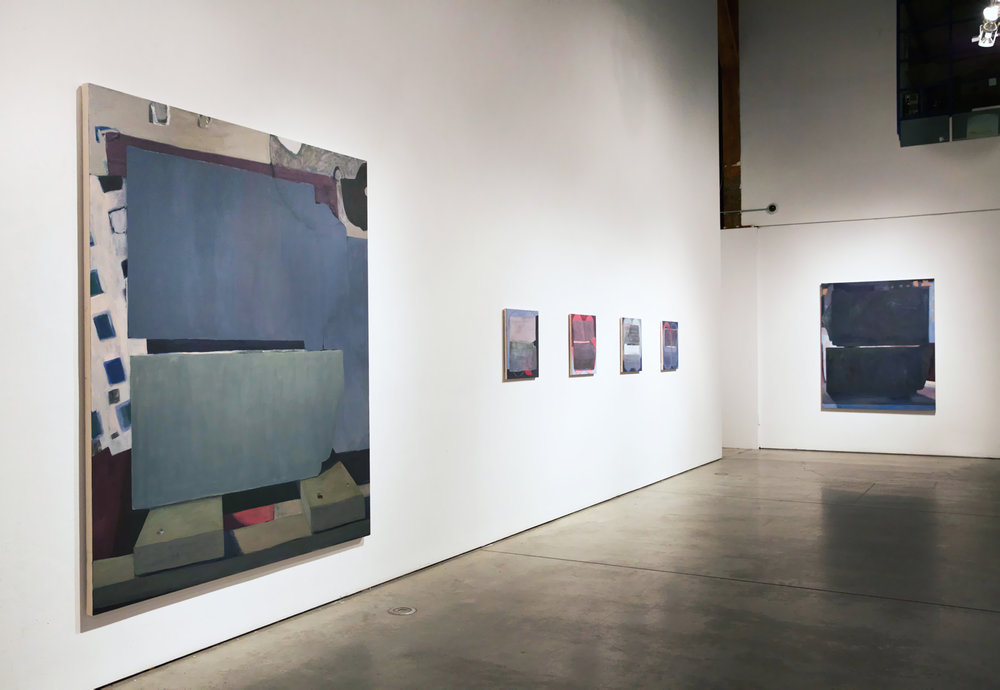 """""""Still Here"""", 2016, installation view ECUAD Concourse Gallery, Vancouver"""