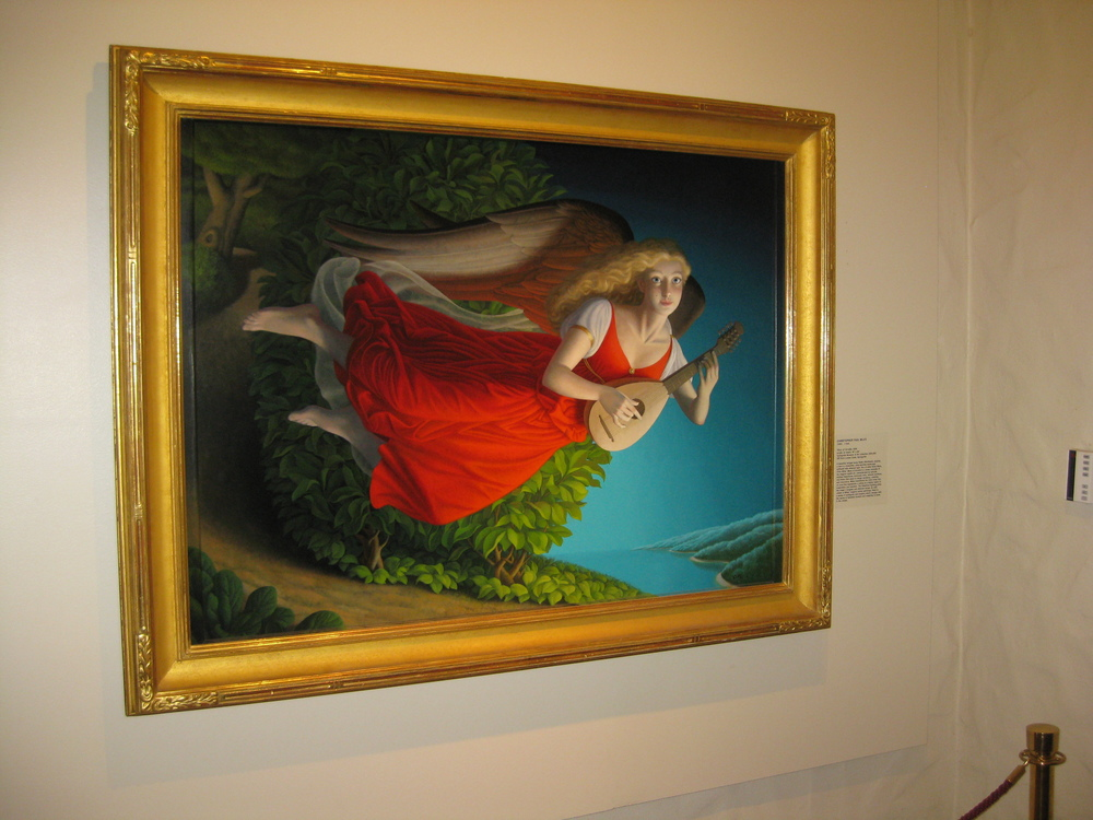 Muse, As seen in the Springville Museum of Art