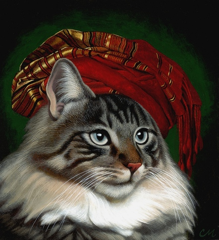Princess, Acrylic on Panel, 9 x 10 inches