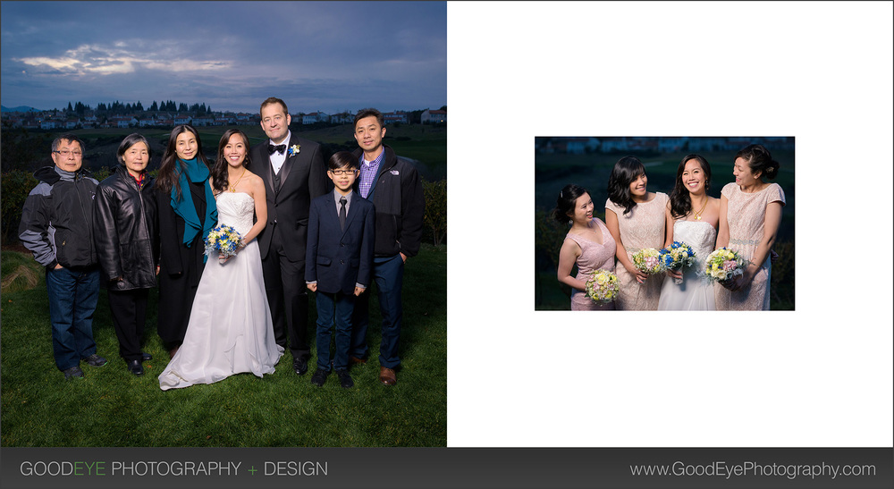 The Bridges Golf Club Wedding Photography in San Ramon – Crystal + Erin