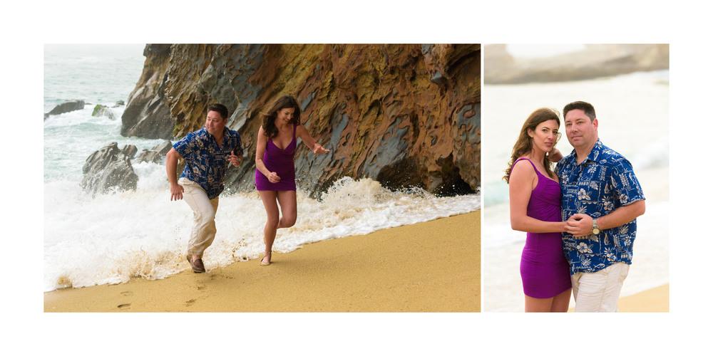 Panther Beach Engagement Photos - Santa Cruz - by Bay Area wedding photographer Chris Schmauch