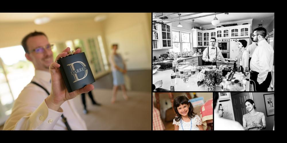 Groom getting ready - Private Estate wedding in Sebastopol, CA - by Bay Area wedding photographer Chris Schmauch