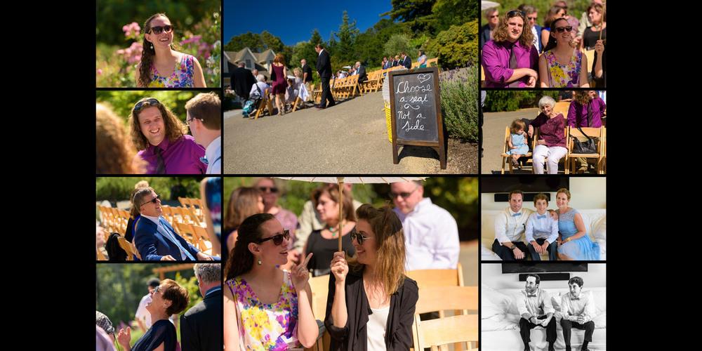 Pre Ceremony candid photos - Private Estate wedding in Sebastopol, CA - by Bay Area wedding photographer Chris Schmauch