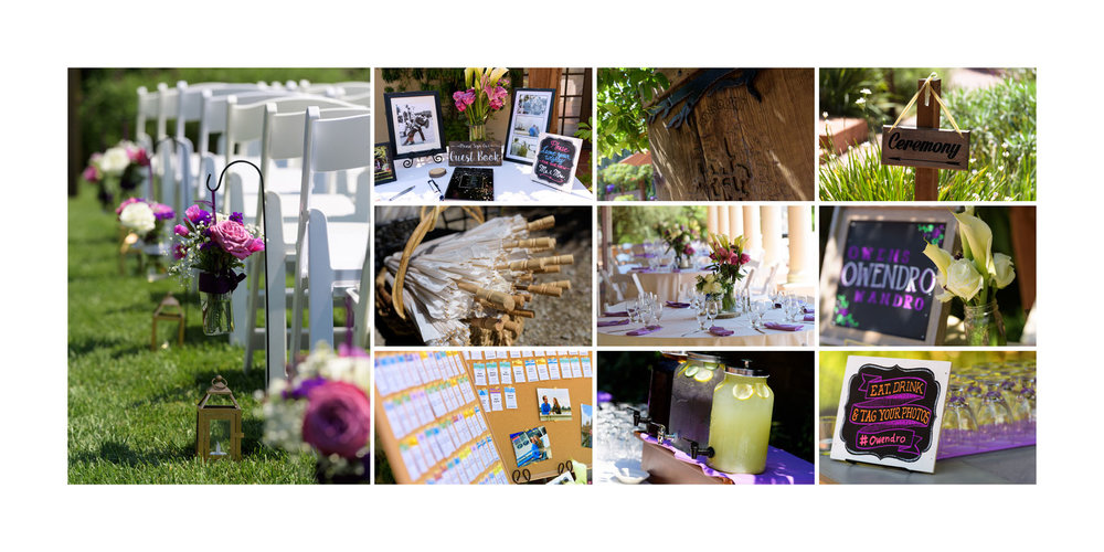 Details - Kennolyn Wedding Photos in Soquel - by Bay Area wedding photographer Chris Schmauch