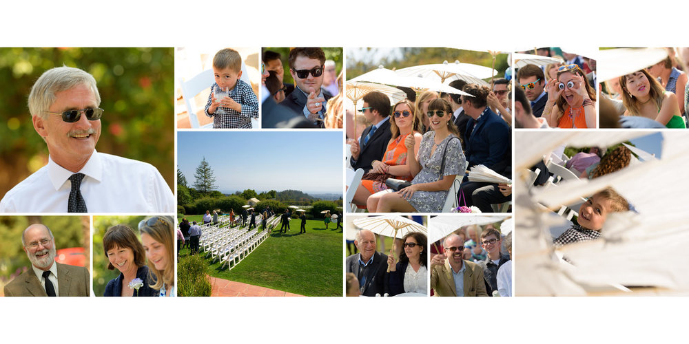 Pre-ceremony candid photos - Kennolyn Wedding Photos in Soquel - by Bay Area wedding photographer Chris Schmauch