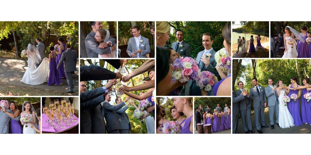 Post-ceremony candids - Kennolyn Wedding Photos in Soquel - by Bay Area wedding photographer Chris Schmauch