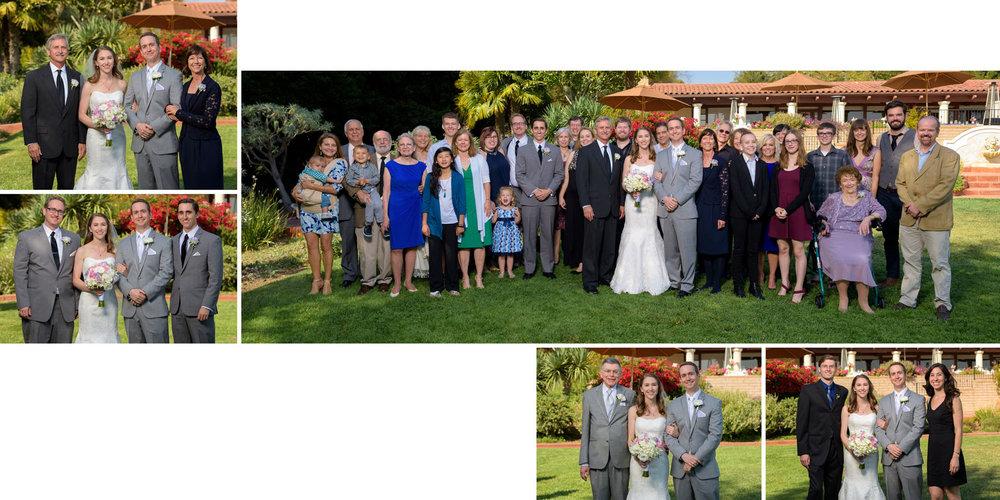 Family formal portraits - Kennolyn Wedding Photos in Soquel - by Bay Area wedding photographer Chris Schmauch