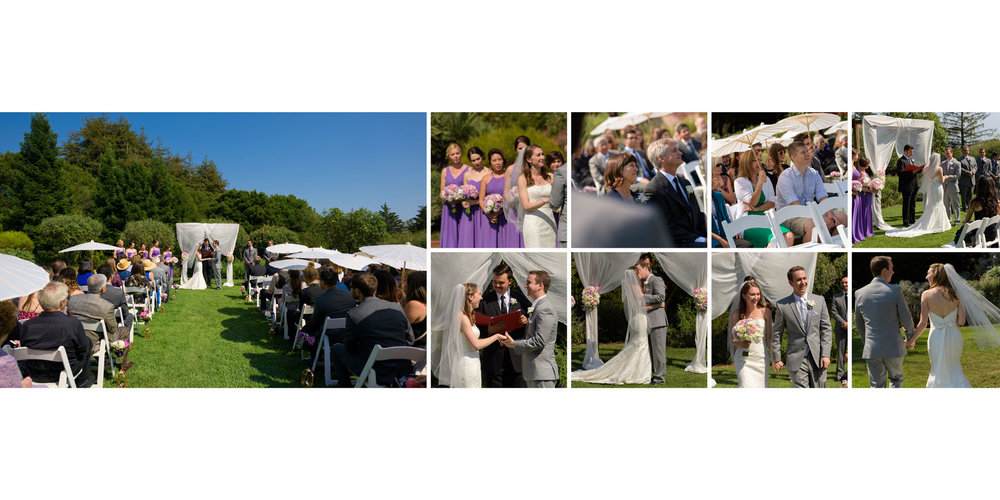 Ceremony - Kennolyn Wedding Photos in Soquel - by Bay Area wedding photographer Chris Schmauch