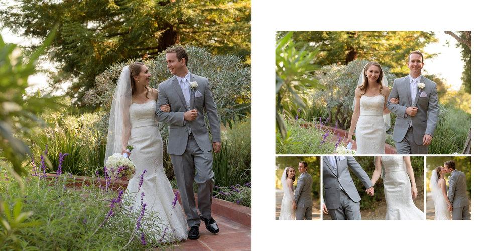 Bride and Groom formal portraits - Kennolyn Wedding Photos in Soquel - by Bay Area wedding photographer Chris Schmauch