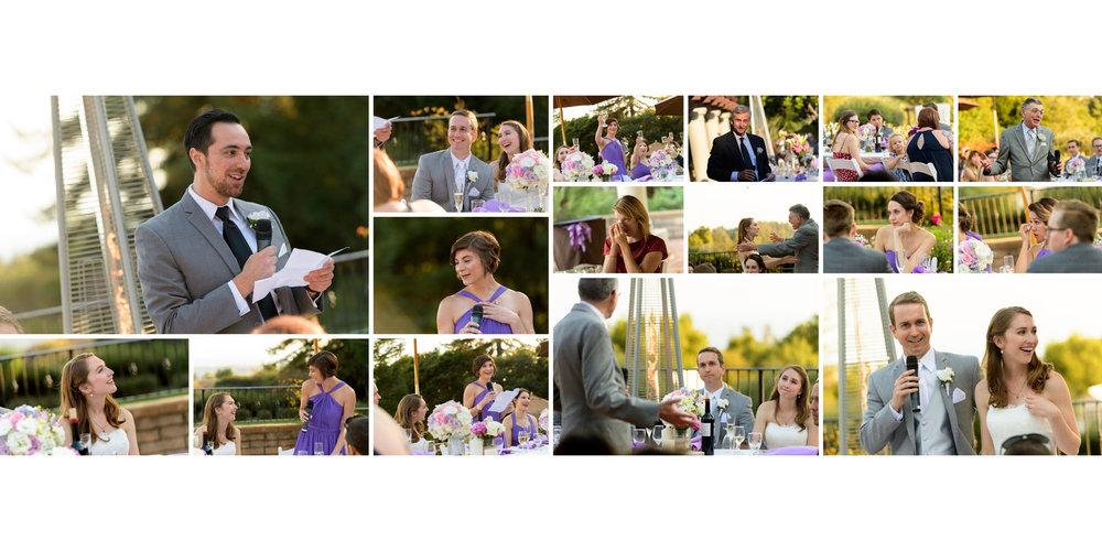 Toasts - Kennolyn Wedding Photos in Soquel - by Bay Area wedding photographer Chris Schmauch