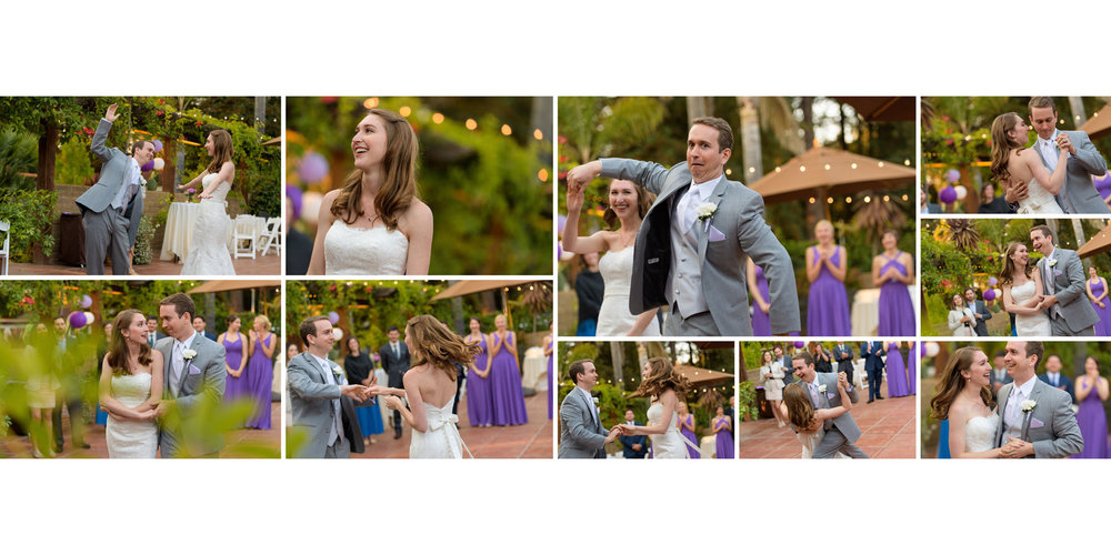 First dance - Kennolyn Wedding Photos in Soquel - by Bay Area wedding photographer Chris Schmauch