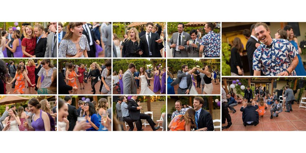 Dancing - Kennolyn Wedding Photos in Soquel - by Bay Area wedding photographer Chris Schmauch
