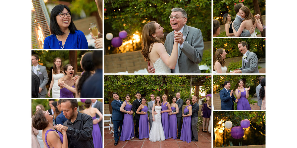 Father Daughter dance, candids - Kennolyn Wedding Photos in Soquel - by Bay Area wedding photographer Chris Schmauch