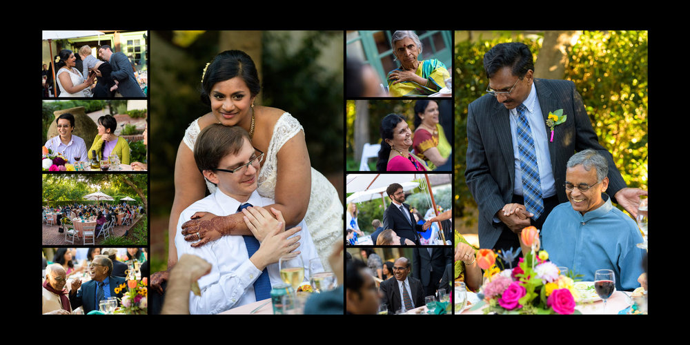 Guest candids – Allied Arts Guild – Menlo Park wedding photos – by Bay Area wedding photographer Chris Schmauch
