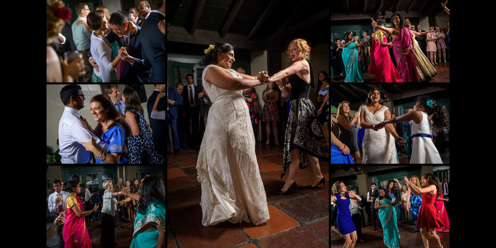 Dancing – Allied Arts Guild – Menlo Park wedding photos – by Bay Area wedding photographer Chris Schmauch